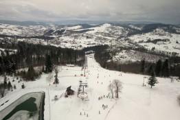 Zwardoń Atrakcja Stacja narciarska Zwardoń-Ski