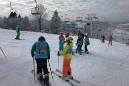 Zwardoń Atrakcja Przedszkole narciarskie Śnieżny Raj