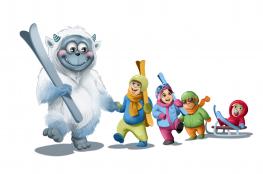 Wisła Atrakcja Przedszkole narciarskie Zimowy Elementarz - wesołe przedszkole narciarskie